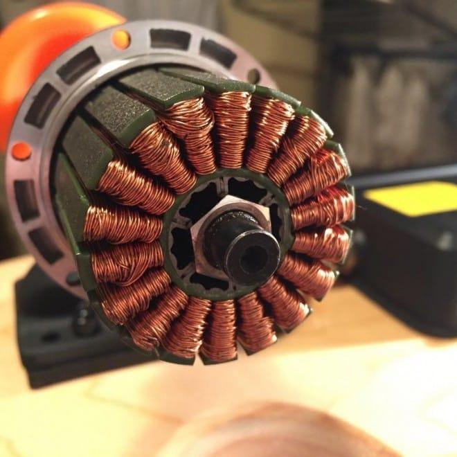 Elektrisk skateboard hub motor longboard electric el inside 1