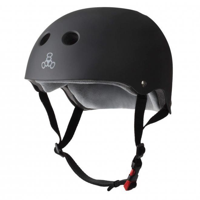 Skaterhjelm skateboardhjelm hjelm triple 8 certified sweatsaver cykelhjelm