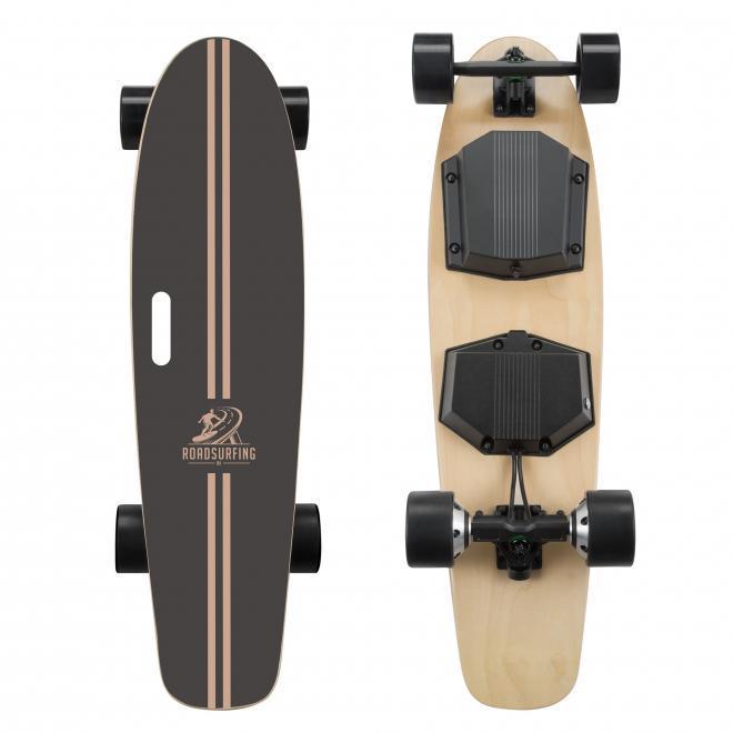 RoadSurfing elektrisk skateboard longboard kicktail pris billig kvalitet design motor hub dual eskate esk8
