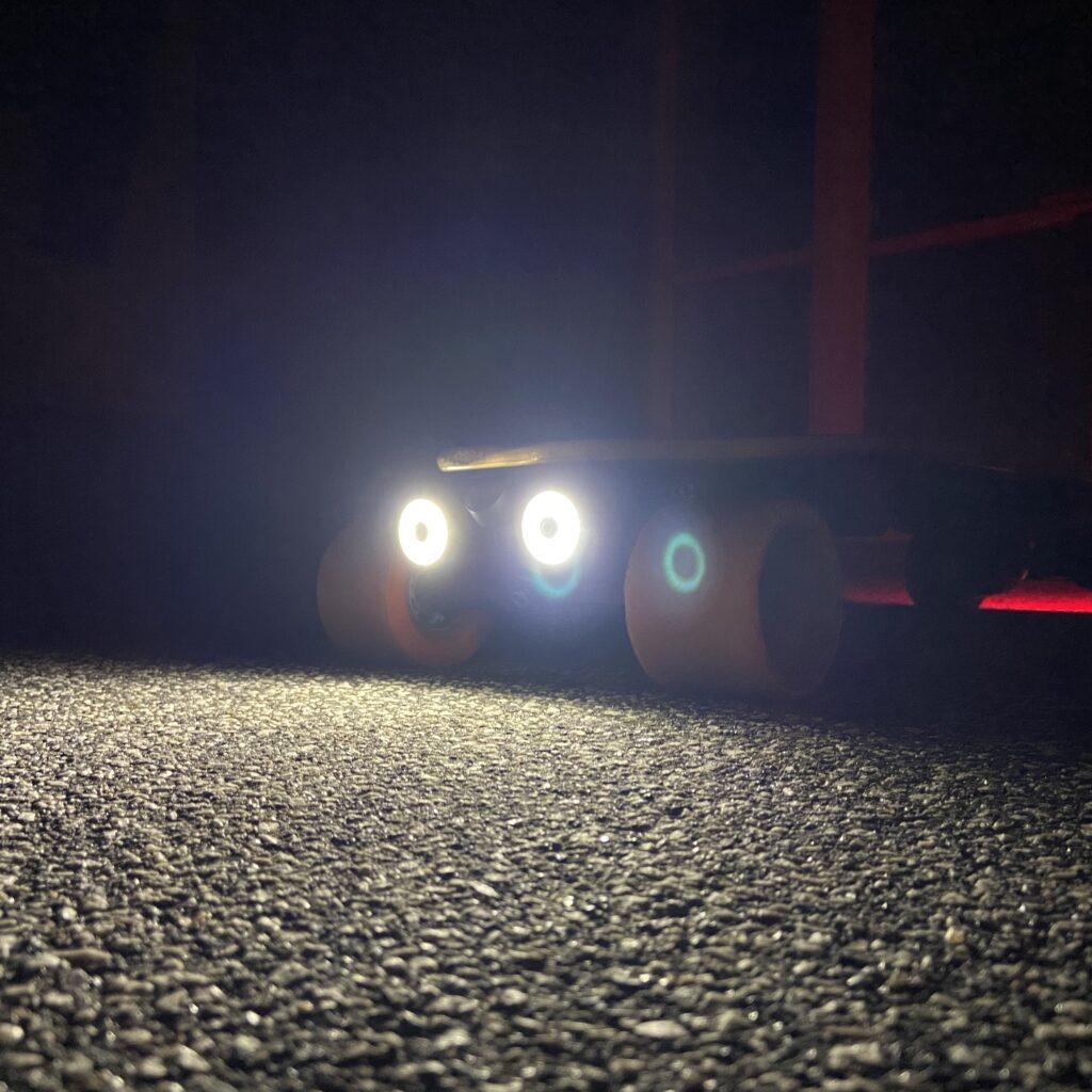 RoadSurfing baglygter elektrisk skateboard enfitnix eskate electric longboard