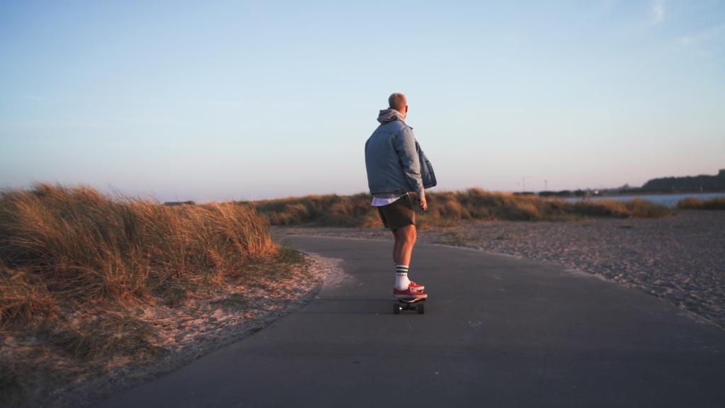 ROADSURFING El skateboard elektrisk longboard med motor